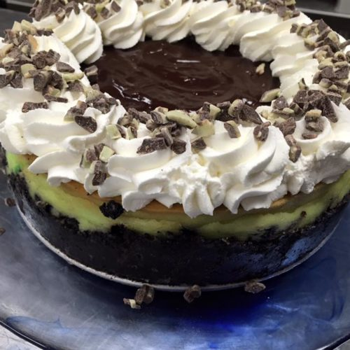 mint-chocolate-cheesecake